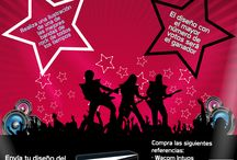 Concurso Wacom / Concurso para ilustradores que les guste el rock / by Compu Greiff