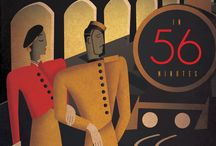Art Deco Posters, Illustrations, Furniture & more