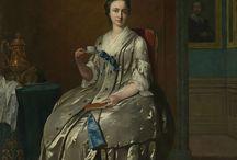 1740's Female Clothing / by Nadine Baylis