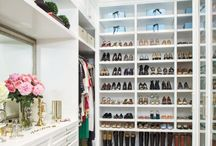 DIY Closet / Small closet organization ideas! From storage, shelves, built-ins - collection of amazing closet design.