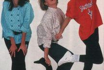 moda de los 80