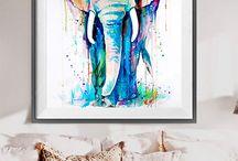 Elefantes elegantes de antes...