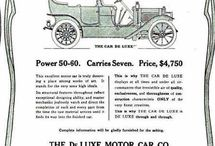 Deluxe Motor Car Co. Ads / The De Luxe car was  as prententious as its name and its price tag of $4,750 was indictive of this. The company claimed to use the more expensive bearings manufactured in Germany which was not true. They were  American made Hess-Bright bearings. The first factory that was used belonged to the defunct Yale automobile in Toledo,OH.