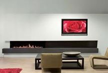 Camini a gas/Gas fireplace