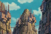 Ghibli Environments