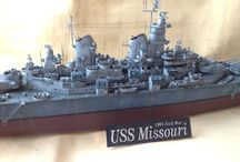 Scale Model Ship / Battle ship, Carrier 1/200 - 1/350 scale