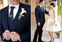 Navy Blue-White Wedding Inspiration