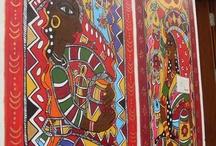 Indian Fresco Art