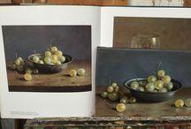 masterclass druiven schilderen