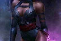 Comics women character