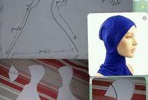 pola jilbab