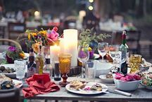 Events & Parties / Decorations, table settings and other ideas for cosy get-togethers, sparkling evenings, summer lunches and that magical atmosphere of the kind of party where anything could happen...