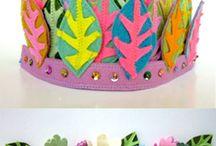 birthday crowns / by Alice Medley