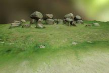 3D hunebedden / Hunebedden in 3D