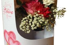 Anniversary Floral Cards