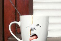 Cup of Coffee / Some funny ways of enjoying just a coffee cup!!
