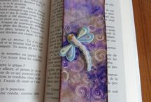 marque page / Bookmark, paper clip