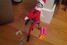 Elf in a shelf .. Lol