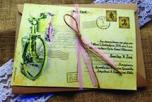 Vintage Wedding Invitations 2015 / Vintage Προσκλητήρια Γάμου 2015