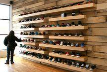 Retail display walls