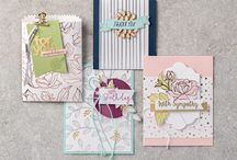 Sympathy and Get Well Cards using Stampin' Up! / On my website, I show you how to make amazing professional handmade cards and other papercraft projects including scrapbooking, using Stampin Up quality, co-ordinating products. Grab your free video tutorial at www.natalieoshea.co.uk