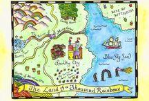 Kaarten en fantasielandschappen