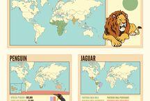 Wildlife maps