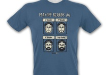 Cool Hockey T-Shirts for the NHL Playoffs / Here are some of our top selling KractIce T-shirts that are especially popular during the NHL playoffs.