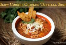 Soups and Slow Cooker Recipies