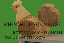 Bottega Michelangeli / This is the work of my friends at Bottega Michelangeli in Orvieto, Italy. You can see more at their shop on Etsy.com