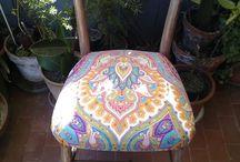 SEDIE chair vintage rivisitate / SEDIE  HANDMADE DIY