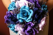 Blue and Purple Wedding