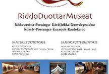 Om RiddoDuottarMuseat / Fire samiske museer i Vest-Finnmark / Four Sami museums in Western-Finnmark, Norway