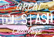 """Fresh Look ! @ Destash / This fresh take on what it means to """"Destash""""  aka selling or trading existing crafting supplies or 'stash' to allow a crafter to buy different, often newer, materials."""
