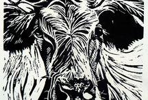 Lino cow