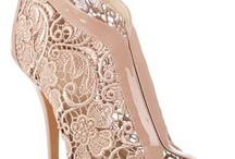 Dusty pink wedding shoes
