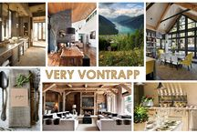 KKDL TRENDWATCH 2016: VERY VONTRAPP / If total stillness isn't your ideal interior, Very Vontrapp may very well be the trend you've been waiting for. While we've seen rustic and countryside fashions come and go, this style takes the very best elements from nature and architecture to create a look that is both striking and serene. Very Vontrapp draws inspiration from textures and elements found in nature like chopped wood, nettles, and foliage, sans the splinters. Creating this polished look is really quite simple. / by Kerrie Kelly Design Lab