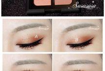 asiatische Augen