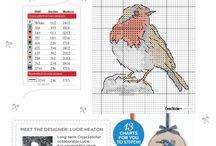 Σταυροβελονιές για πουλιά
