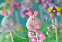 Easter Ideas / Cake Pop ideas for Spring and Easter.