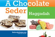 Chocolate Seder / Get ready for Passover with your kids! Do a dry run of the seder (order) with chocolate, candies and other fun items. This is a great event that you can do lots of DIY or order supplies ready made. Up to you how sugary you want the elements to be. #Passover #ChocolateSeder / by ReformJudaism.org