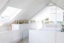 chance / interior design con largo uso di mobili e materiali di recupero