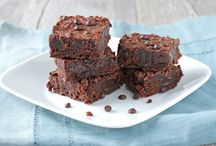 Brownies using Pamela Baking Flour (gf)