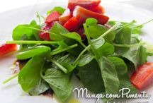 Salada é vida ♥ / Procurando uma Salada perfeita para a sua refeição? Confira aqui seleção de receitas publicadas no blog Manga com Pimenta.