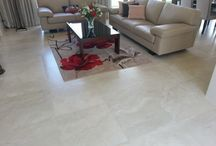 Natural Stone Inspired Tiles / Porcelain Tiles with various natural stone looks and all the ease and durability of porcelain