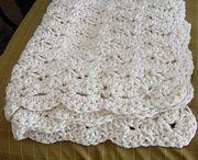 Crochet Blanket, Throw, Cushion