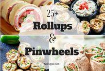 Savoury roll ups