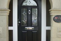 Composite Doors / Composite door ideas for home improvements. Solidor are lead free, thermally efficient, robust surface, realistic wood grain doors #Solidor. Choose from 20 colours inside/outside and 18 frame combinations for your door #Style. Also choose your lock options from the most secure composite doors on the market. #HighSecurity Brought to you by LFwindows #Which #TrustedTrader
