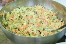 Saláták, öntetek, szörpök és kenők + kenyér