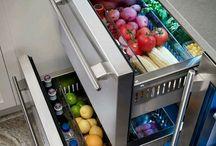 Guardar verduras y fruta